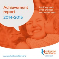 Adoption Matters Achievement Report 2015