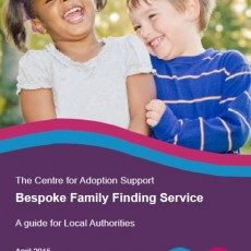 Centre for Adoption Support Bespoke Family Finding Service Brochure