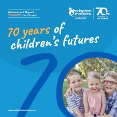 Adoption Matters Achievement Report 2017