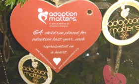 Adoption Matters Christmas Tree