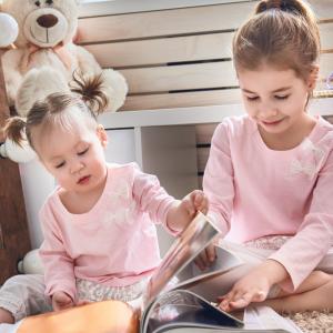 Kira and Olivia – Aged 5 and 2