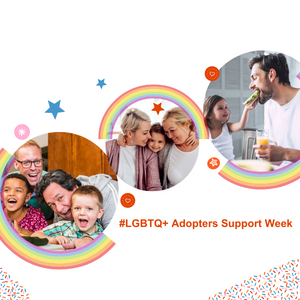 Supporting our LGBTQ+ adopters